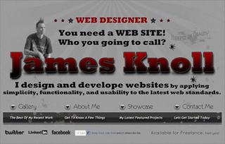 James Knoll / Web Designer