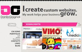 Danilo Giagnoli online portfolio