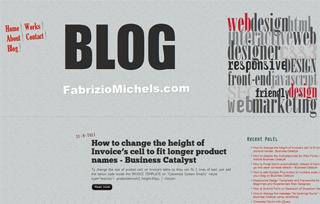 Blog Fabrizio Michels