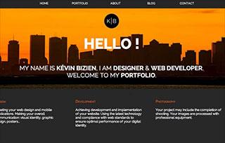 Kevin Bizien website