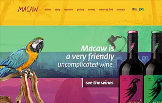 Wine Macaw
