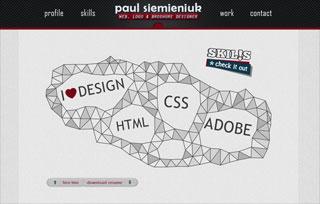 Paul Siemieniuk - web & logo design
