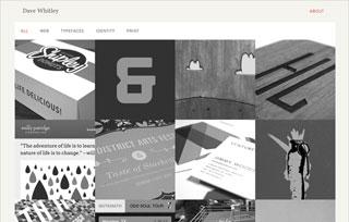 Dave Whitley Portfolio Site