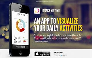 iTrackMyTime iPhone app