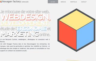 Hexagon Factory Webstudio - CSS Winner