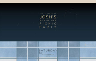 Josh's Adventure Picnic Party