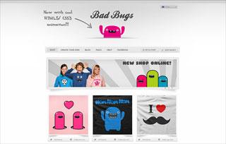 Bad Bug's T-Shirt Shop