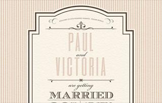 Paul and Victoria's Wedding Website