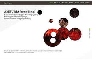 Amburia branding