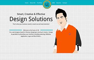 Udhaya Raja AK - UI/UX Designer