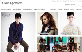 Oliver Spencer Home Page