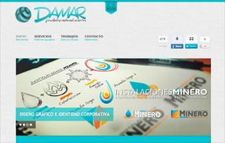 DAMAR publicidad - Diseño Web
