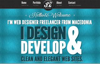 Personal portfolio HTML5