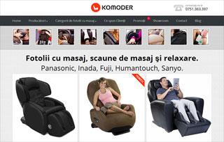 Komoder | fotolii de masaj