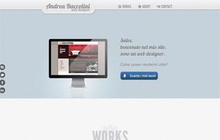 Andrea Baccolini - Web designer