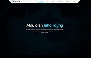 Juho Röyhy's Portfolio