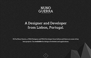 Nuno Guerra - Web Designer