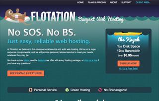 Flotation Web Hosting