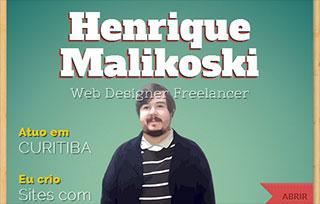 Henrique Malikoski - Web Designer