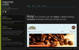 Sebastián Llano Web Design