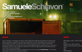 SamueleSchiavon web designer