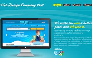 Web design company 24x7