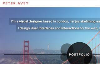 Peter Avey Visual Designer