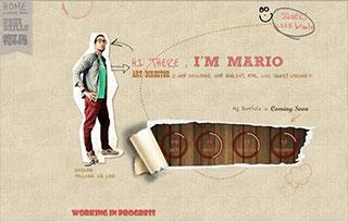 Portfolio's Mario Art director