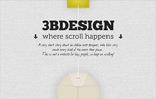 3bdesign - Where Scroll Happens