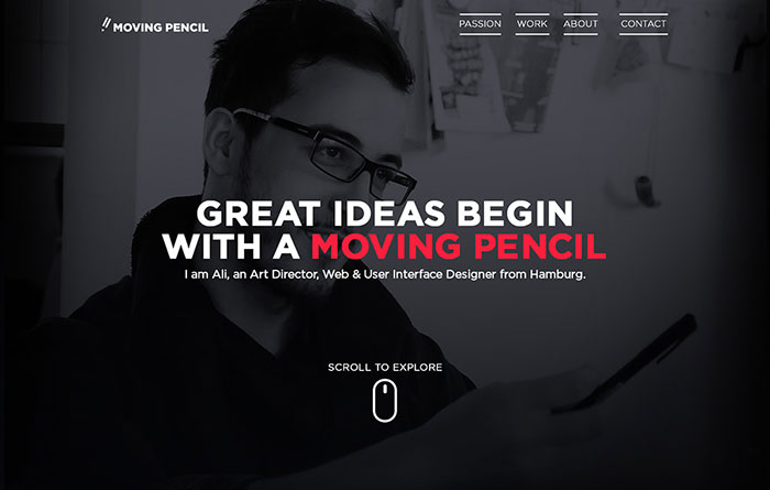 Moving Pencil - Ali Öztürk