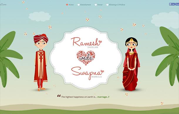 swaram wedding