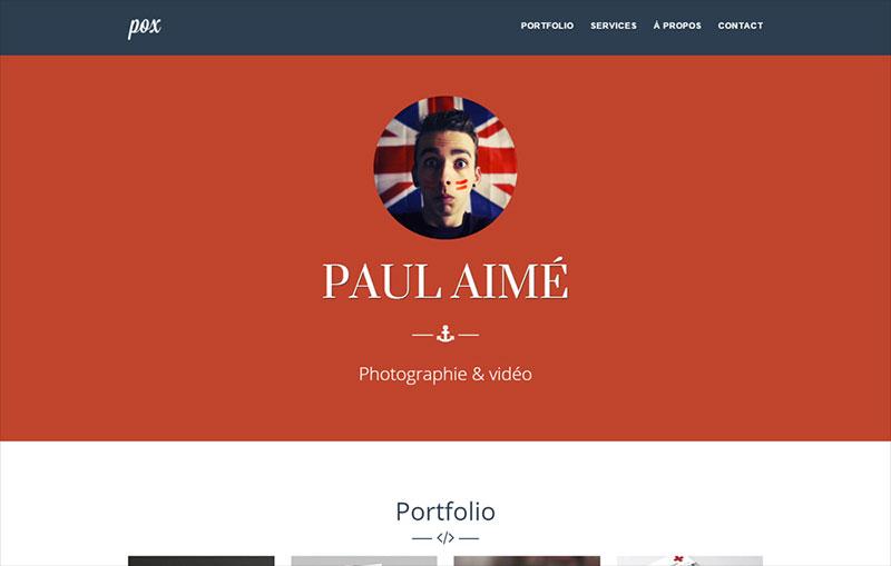 Paul Aimé - POX - Graphic designer