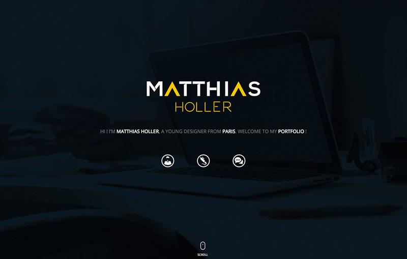 Portfolio de Matthias HOLLER