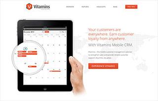 Vitamins Mobile CRM