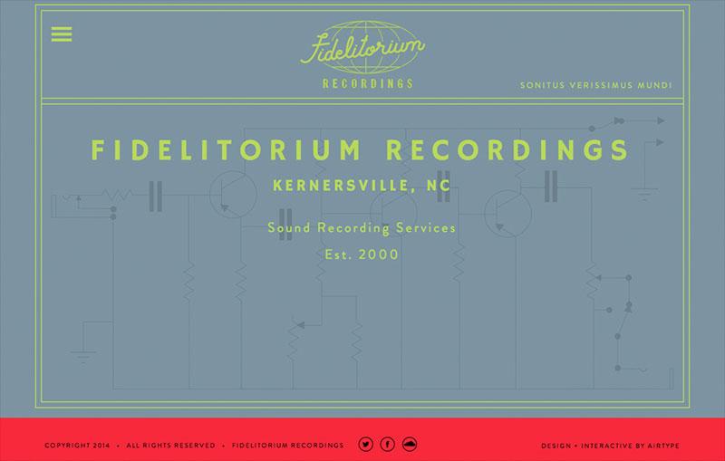 Fidelitorium Recordings