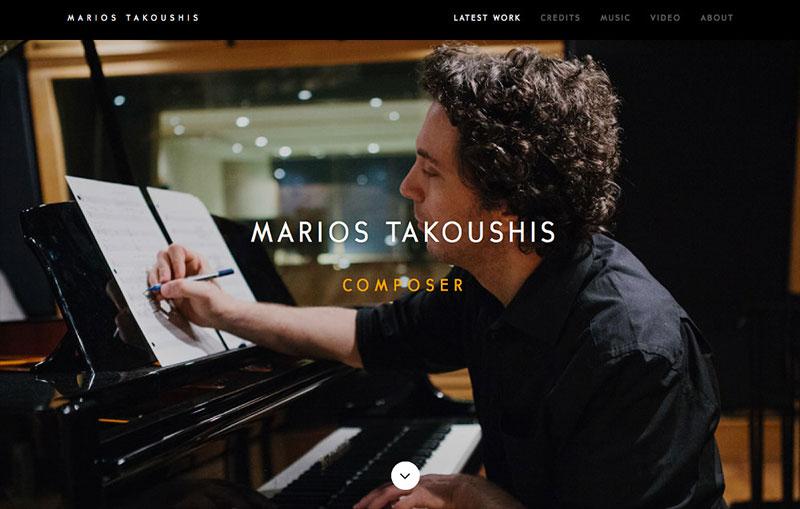 Marios Takoushis - Composer