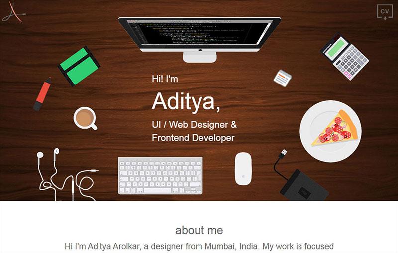 Aditya Arolkar Portfolio