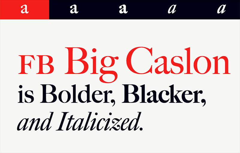 FB Big Caslon