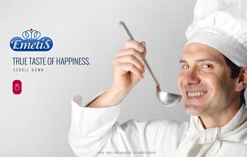 True taste of happiness