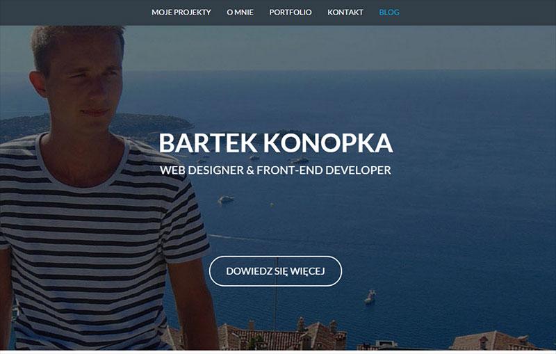 Bartek Konopka Portfolio