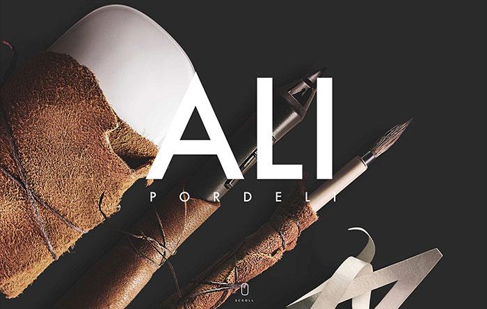 Ali Pordeli's Official Website