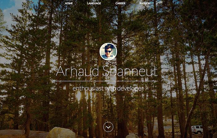 Arnaud Spanneut Portfolio