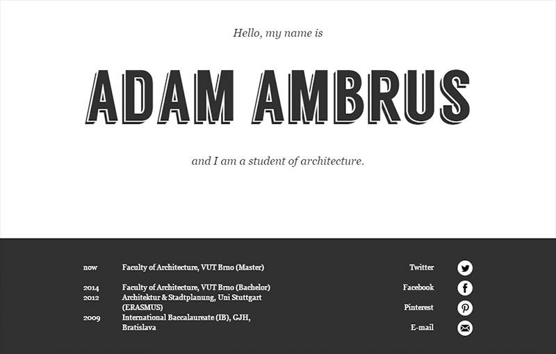 Adam Ambrus Architectural Portfolio