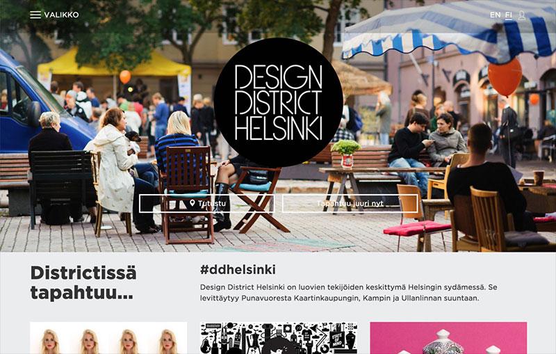 Design District Helsinki Css Winner