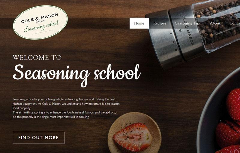 Seasoning School