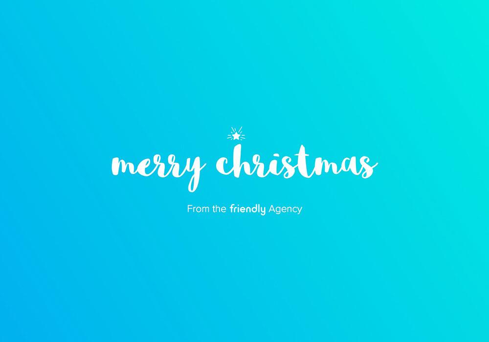 Friendly Christmas Card 2015