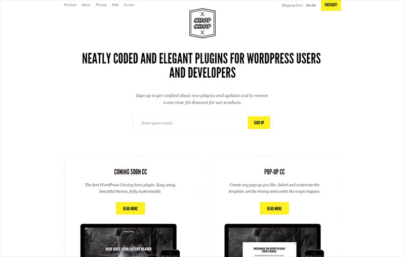 Plugins for WP by Chop-Chop.org
