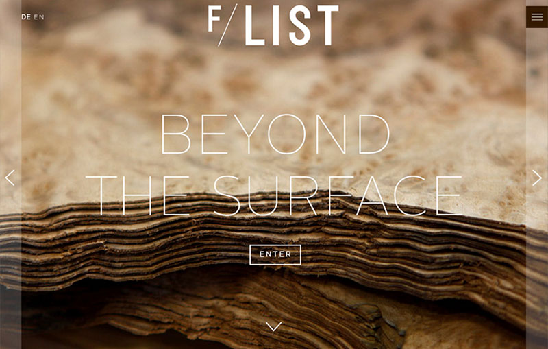 F/LIST - Beyond the surface