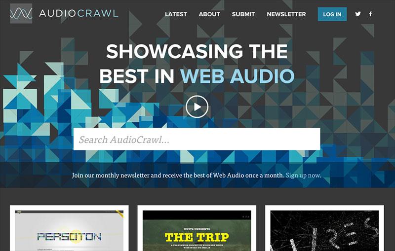 AudioCrawl