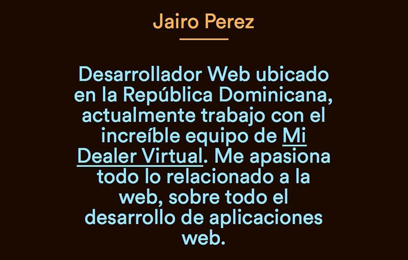 Jairo Perez